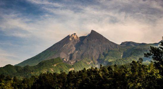 Gunung Merapi (dok. KLHK)