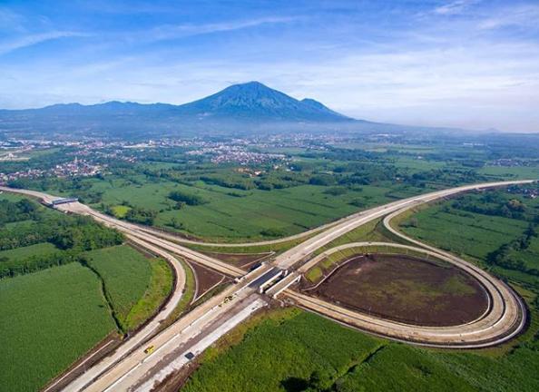 Jalan Tol Ini Suguhkan Pemandangan Gunung Arjuno Mounture Com